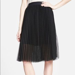 1976b9ba74e2 Sam Edelman pleated tulle skirt